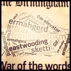 Day 365: WORDLE ALL THE MEMES!!! It's like my Creative Writing and the Web class exploded all over the Birmingham News.