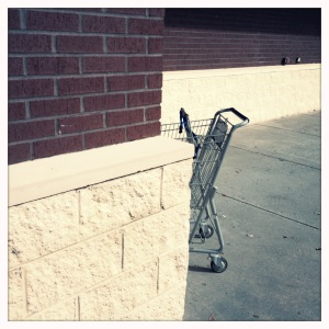 "I call this ""It's Still Rejection Even If You Try To Hide It, Cart Outside The Rite Aid."""