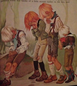 This very terrifying illustration of very sad children is the best possible preface for this list.